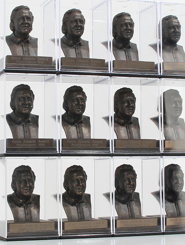 Koos Award Provincie Beeldjes