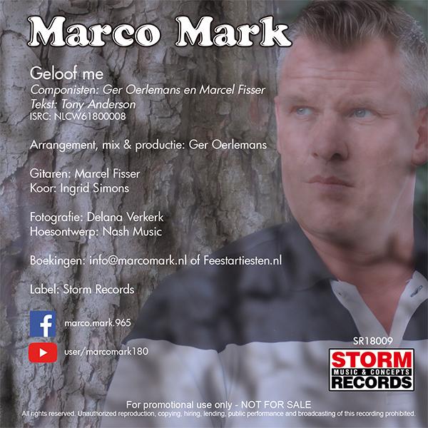 Marco Mark – Geloof Me (Back 600)
