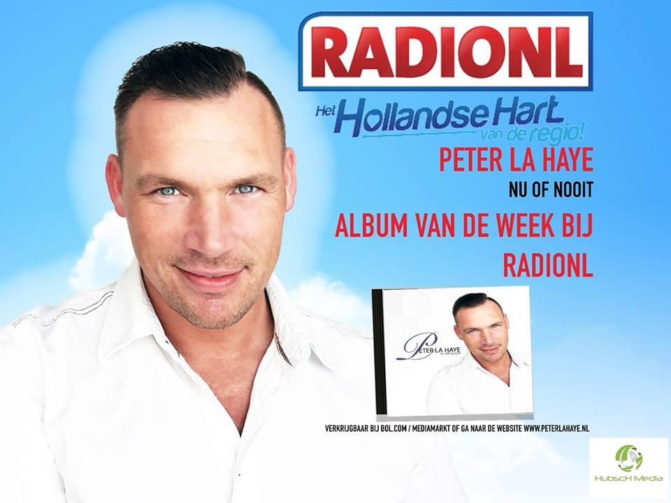 Peter La Haye Album Vd Week Bij RADIONL.