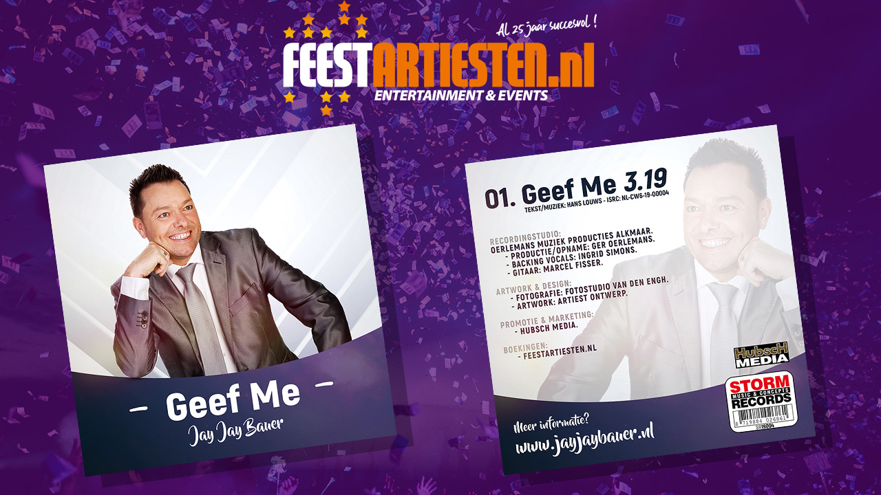 Jay Jay Bauer – Geef me