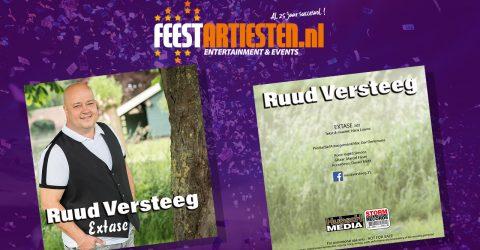 Nieuwe Release: Ruud Versteeg – Extase