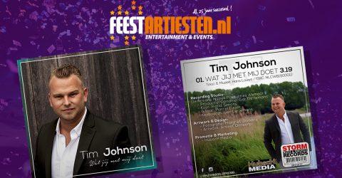 Nieuwe Release: Tim Johnson – Wat Jij Met Me Doet