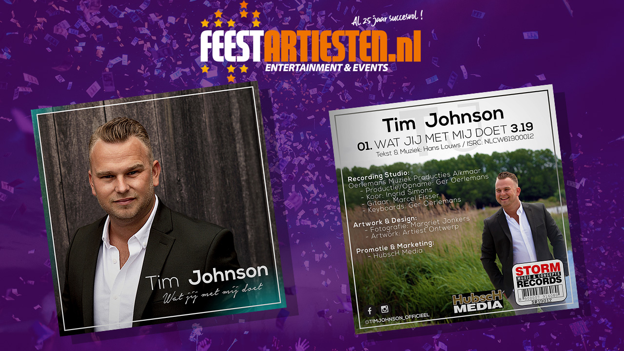 Tim Johnson – Wat jij met me doet