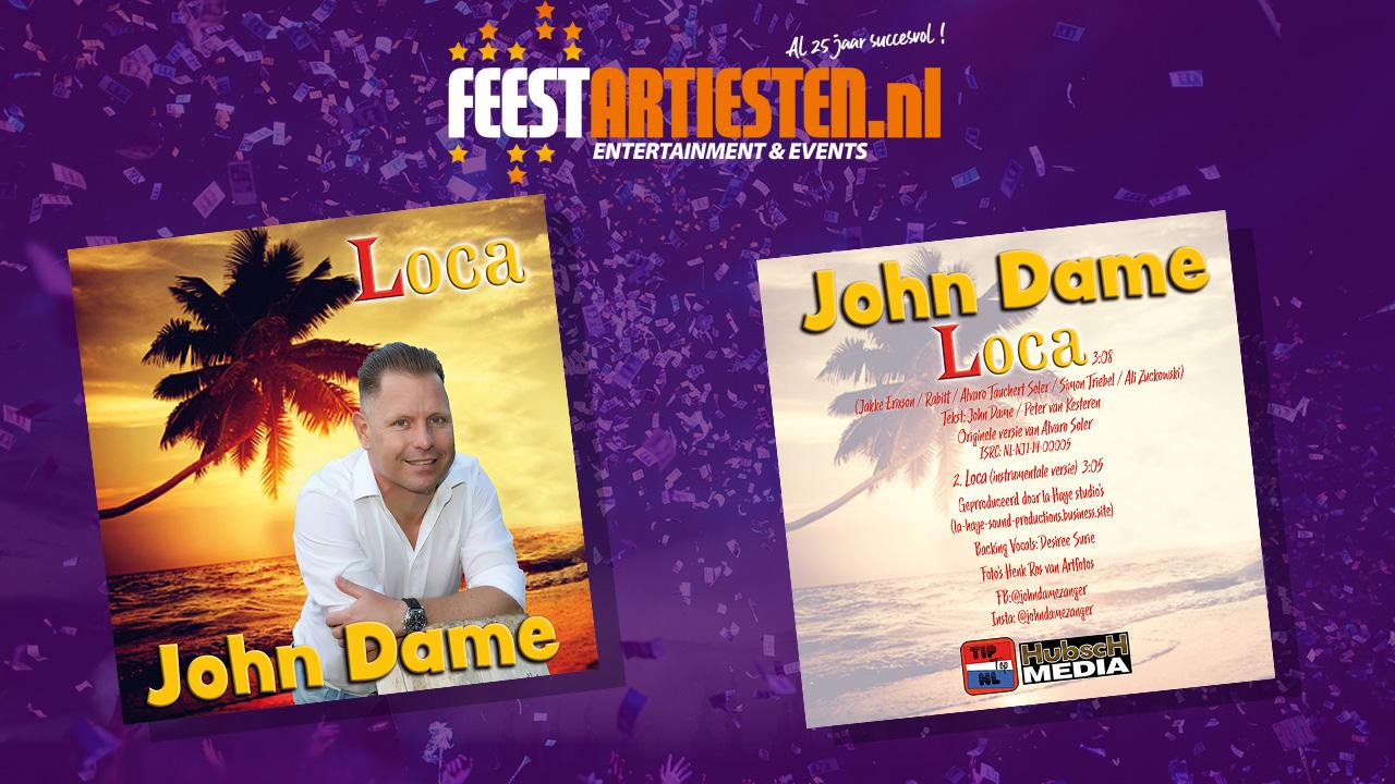 Nieuwe release: John Dame – Loca