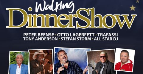 Walking Dinnershow – Zaterdag 14 September