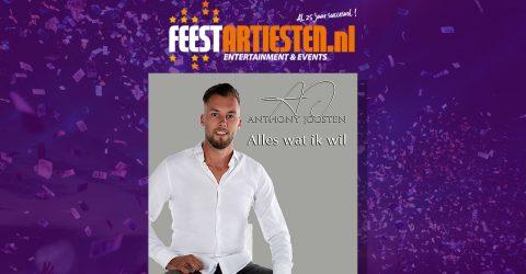 Nieuwe Release: Anthony Joosten – Alles Wat Ik Wil