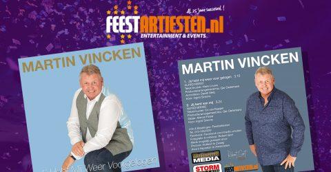 Nieuwe Release: Martin Vincken – Jij Hebt Mij Weer Voorgelogen