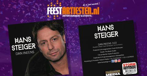 Nieuwe Release: Hans Steiger – Dan Ineens