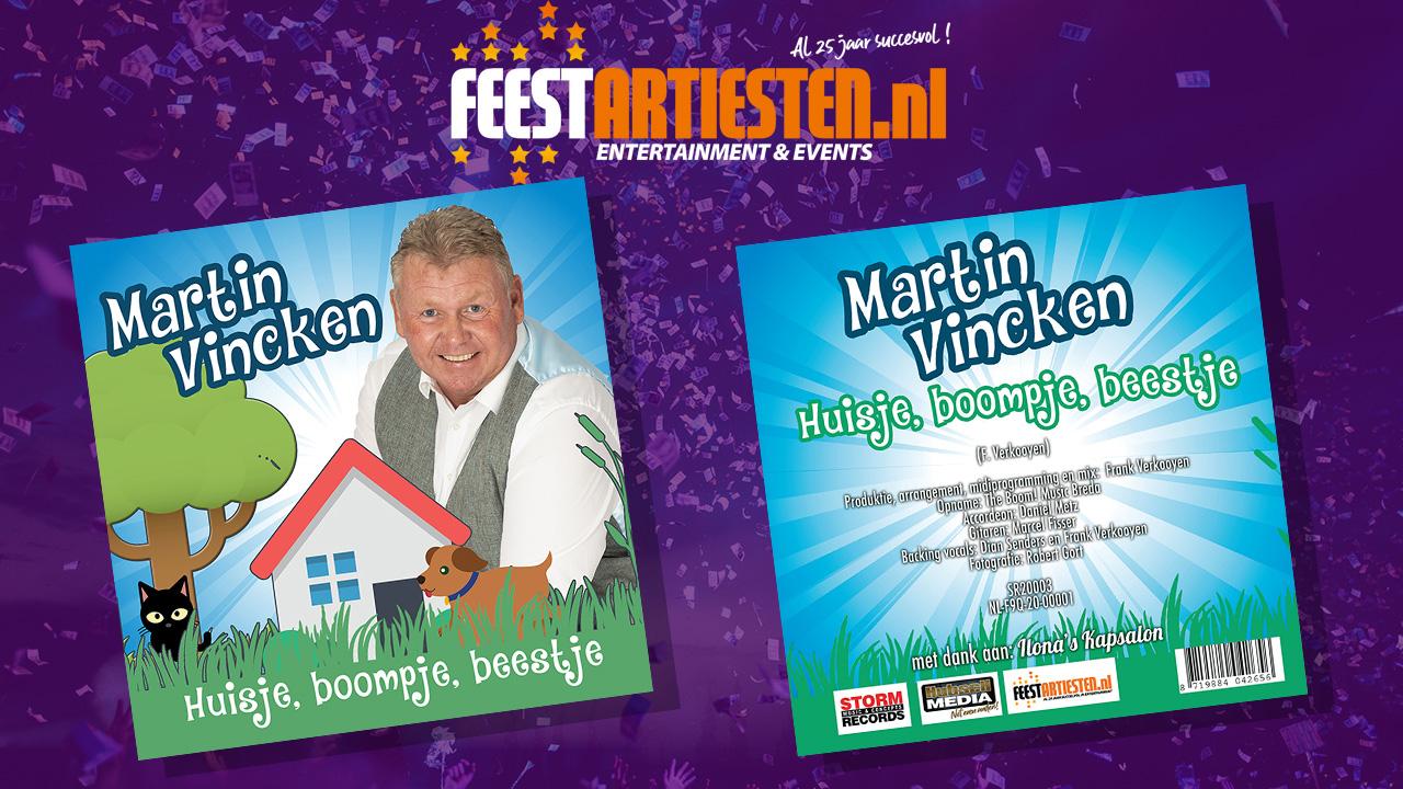 Nieuwe Release: Martin Vincken – Huisje, boompje, beestje