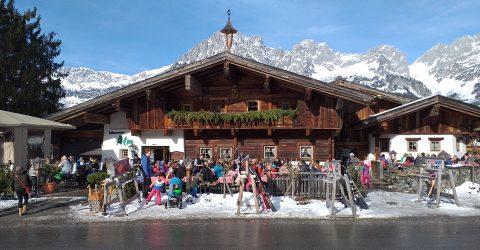 16 Maart Toppers Van Oranje In Ellmau Oostenrijk.