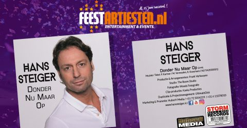 Nieuwe Release: Hans Steiger – Donder Nu Maar Op