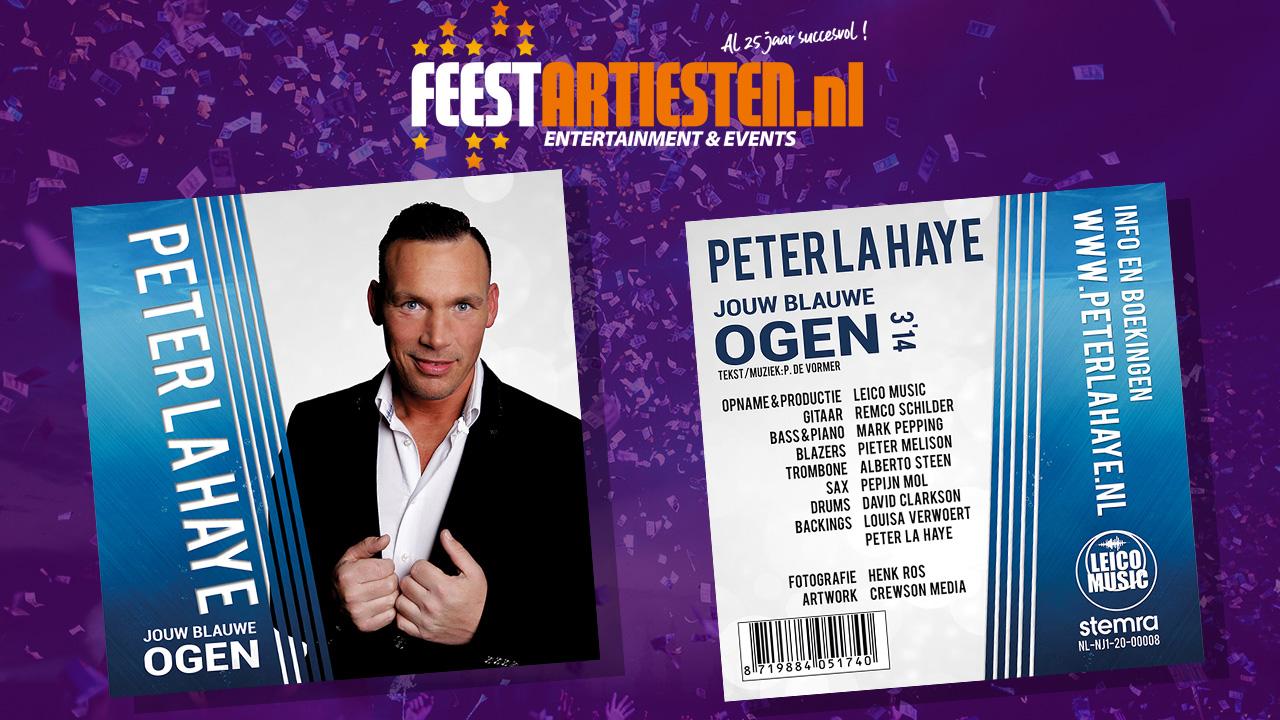 Nieuwe Release: Peter La Haye – Jouw blauwe ogen