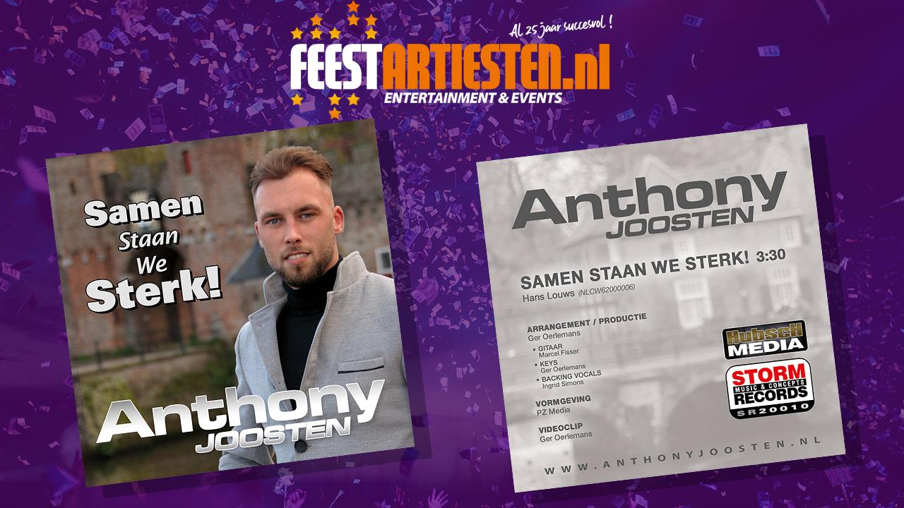 Anthony Joosten – Samen staan we sterker