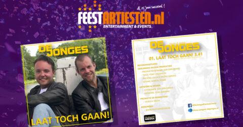Nieuwe Release: De Jonges – Laat Toch Gaan!